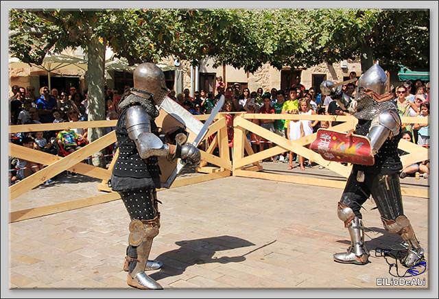 Poza de la Sal, Feria de Artesanía y Alimentación y Combates medievales (13)