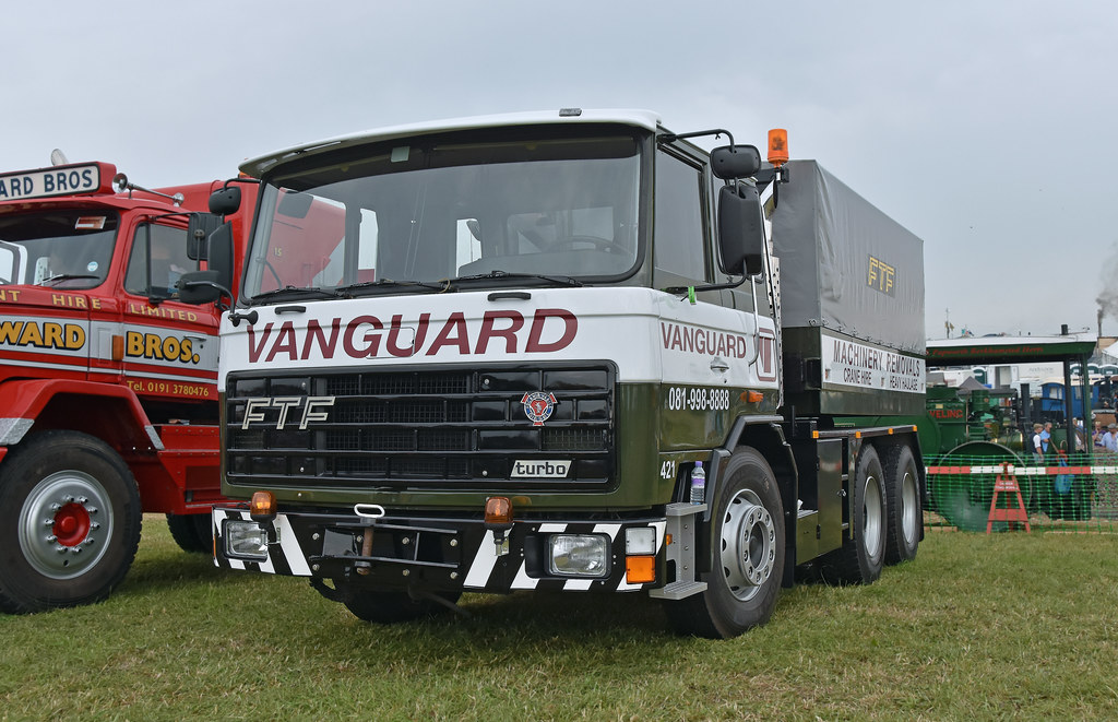 FTF Heavy Haul Ballast Tractor Vanguard with Scania Engine… | Flickr