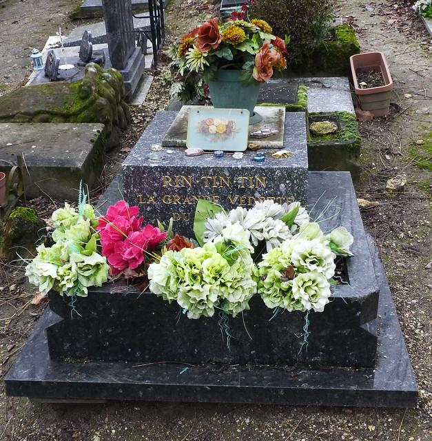 Rin-Tin-Tin's Grave, Pets' Cemetery, Asnières-sur-Seine