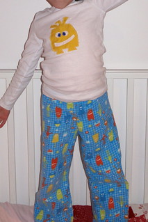 oliver + s bedtime story pajama bottoms | by cafenoirdesign