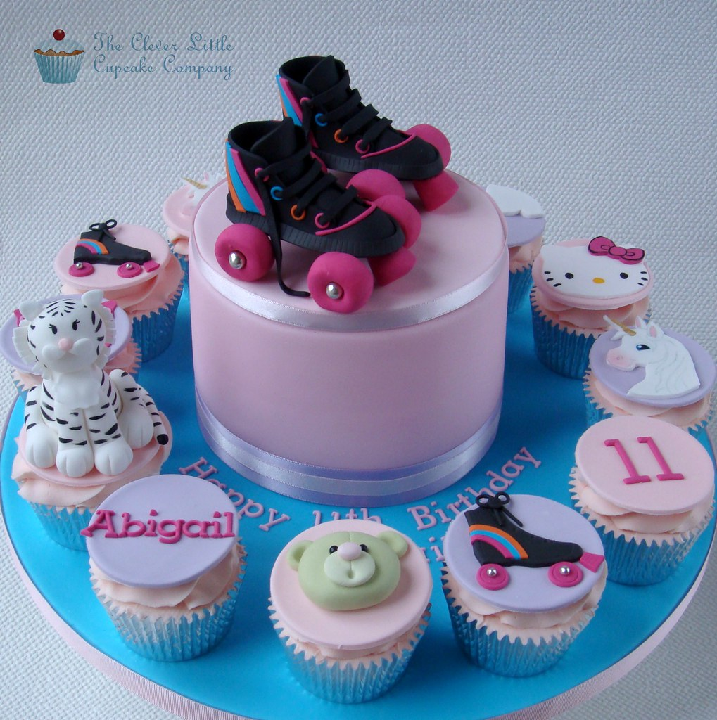 Roller Boot Cake Toppers