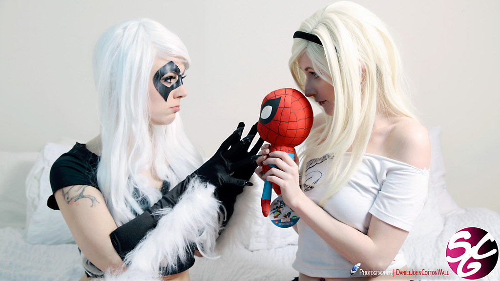 stacy cosplay Gwen spider woman