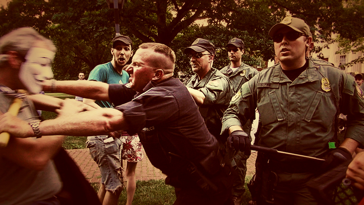 Police brutality at Occupy Philly