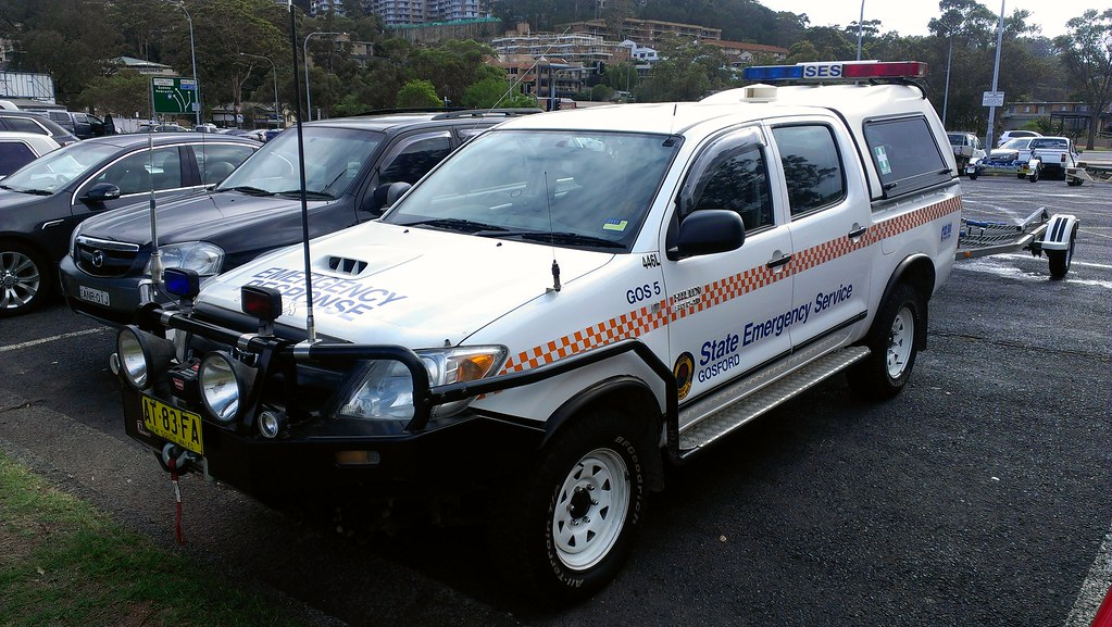 2009 Toyota Hilux Ses A Toyota Hilux Used By The Ses On Th Flickr