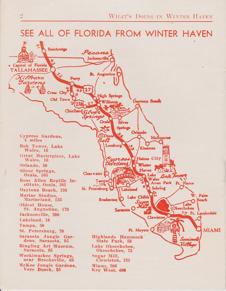 Silver Springs Florida Map.Winter Haven Florida Map See All Of Florida From Winter Ha Flickr
