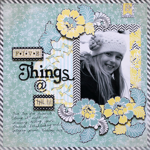 5 Things at 8 | by Kate-Vickers