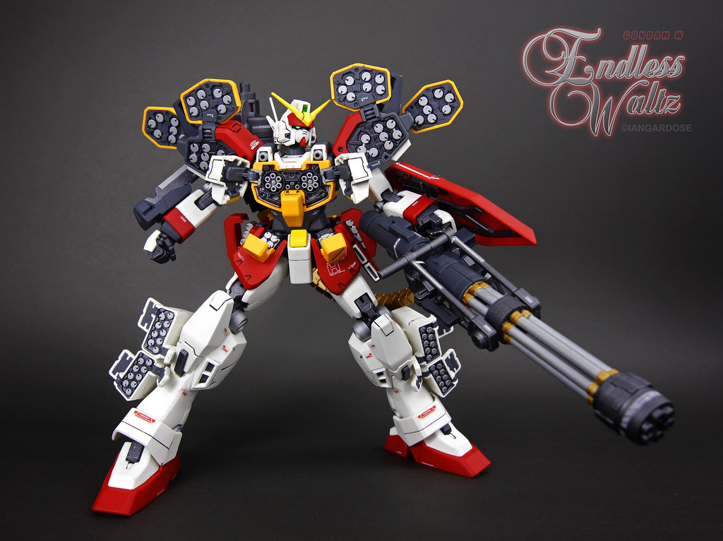 XXXG-01H Gundam Heavyarms | With financial backing from ...