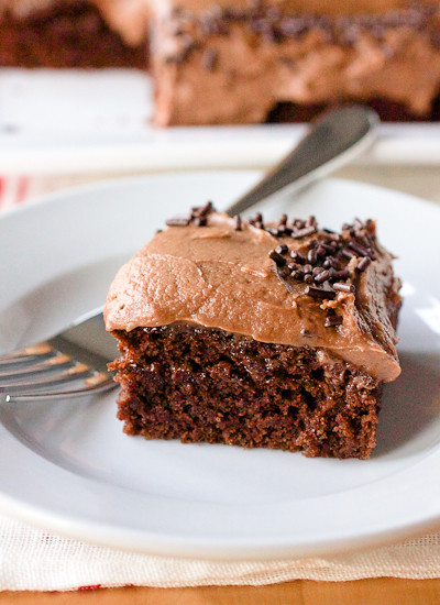 No-Bowl Double Mocha Snack Cake