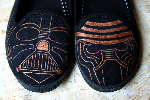 Star Wars slip-ons