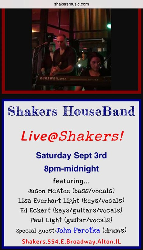 Shakers 9-3-16