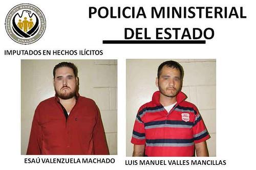 Detienen a dos jóvenes por homicidio en grado de tentativa