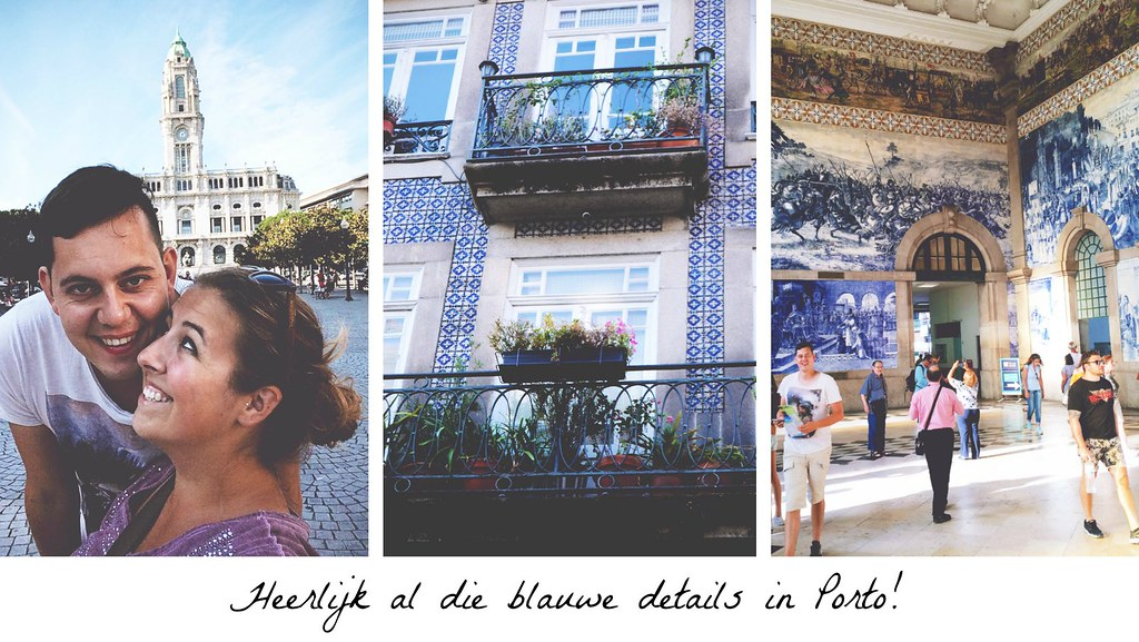 Blauwe details in Porto | via It's Travel O'Clock