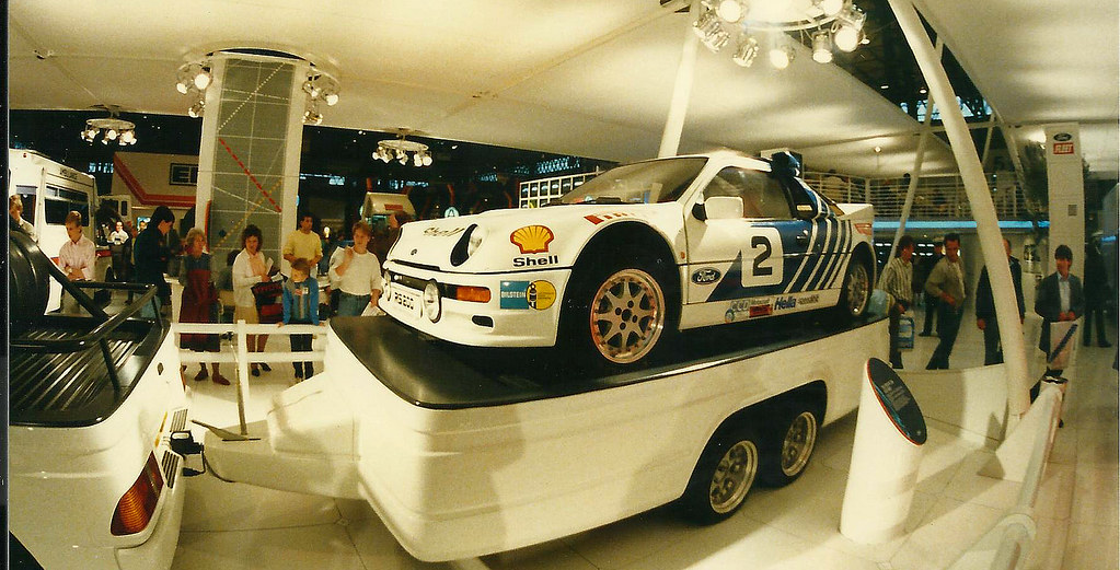 Ford RS 200 | The Ford RS200 is a mid-engined, four-wheel ...
