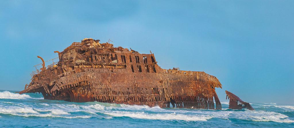 Boat Wreck Santa Maria Cape Verde Boa Vista  D2 97 Youre