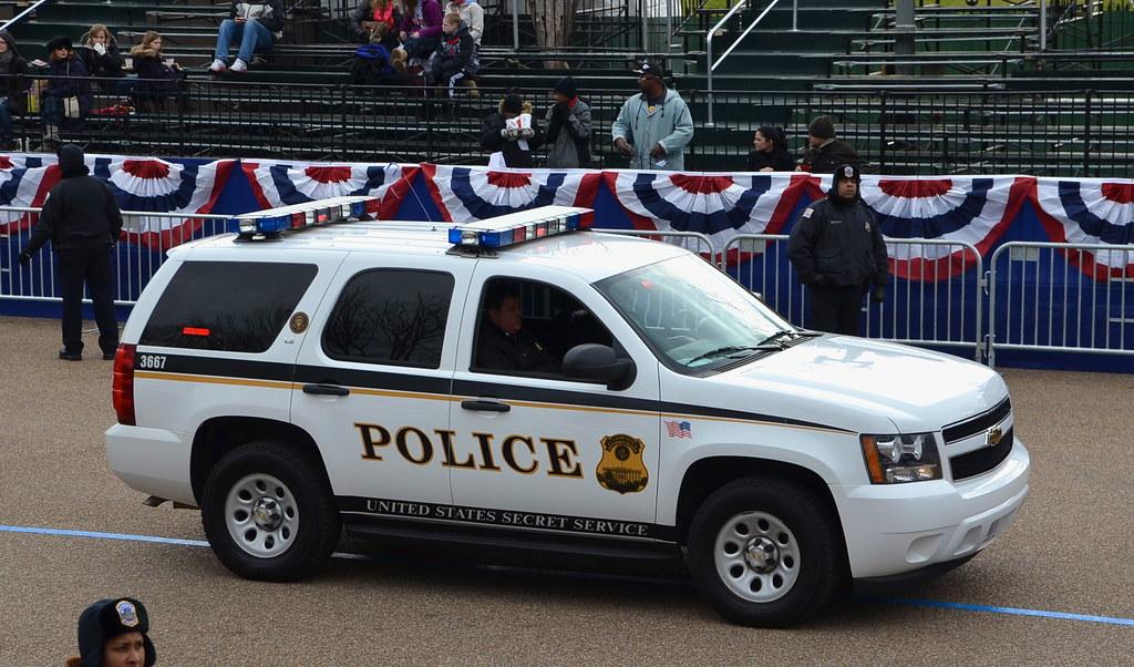 Secret Service Police Car