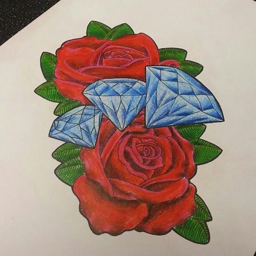 Tattoo Newschool Traditional Art Drawing Sketch Ros Flickr