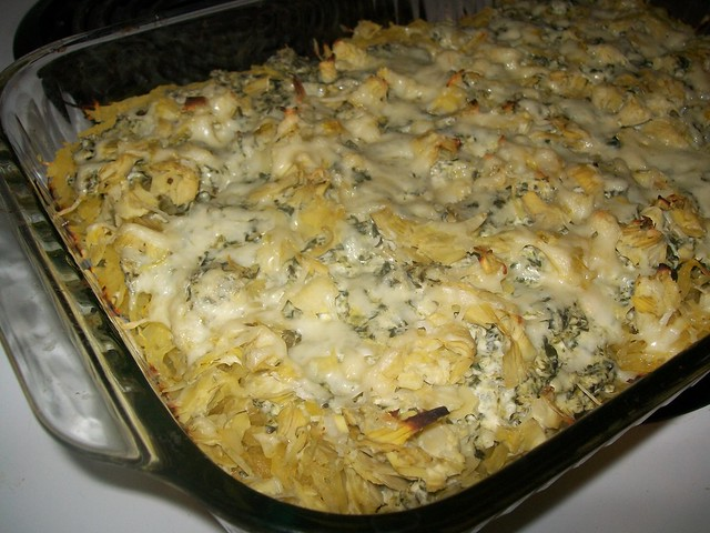 baked-spinach-artichoke-dip-squash-casserole | Flickr - Photo Sharing!