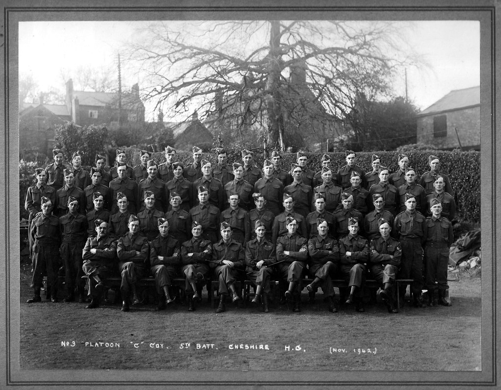 Cheshire home guard north west district no 5 sector for Chesire house