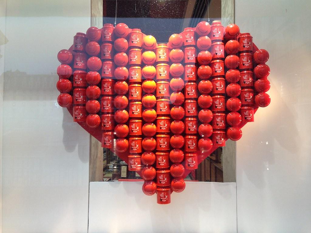 vitrines saint valentin h diard paris f vrier 2013 flickr