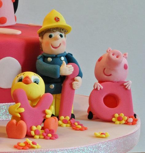 Tweetie Pie Fireman Sam Peppa Pig Cake Toppers Sylvania Cakes