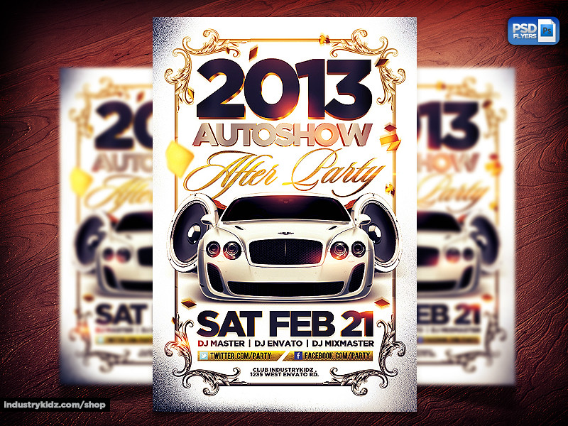 Auto Show Flyer | Auto Show Flyer Psd Template You Can Downl… | Flickr