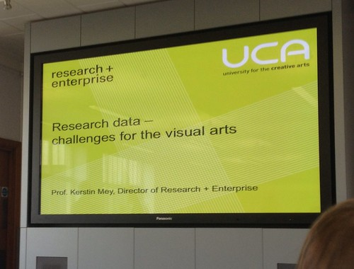 Research data challenges for the visual arts #jiscmrd @wsaglobalfuture | by adamprocter
