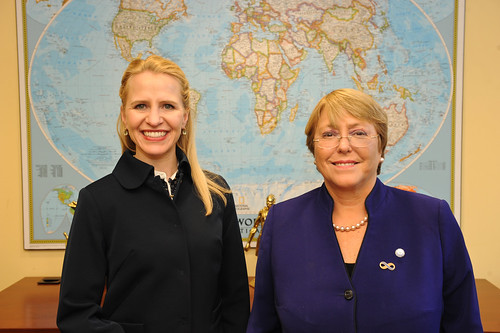 UN Women Executive Director Michelle Bachelet meets the Minister of Liechtenstein | by UN Women Gallery