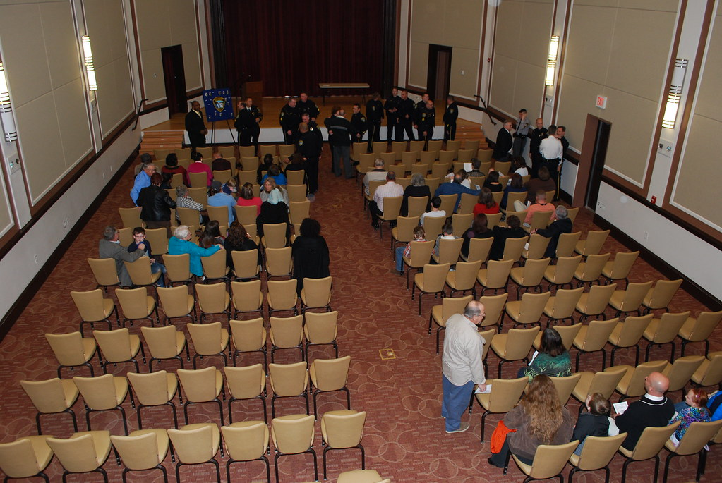 Rocky Mount Police Deparment Promotion Ceremony March 1
