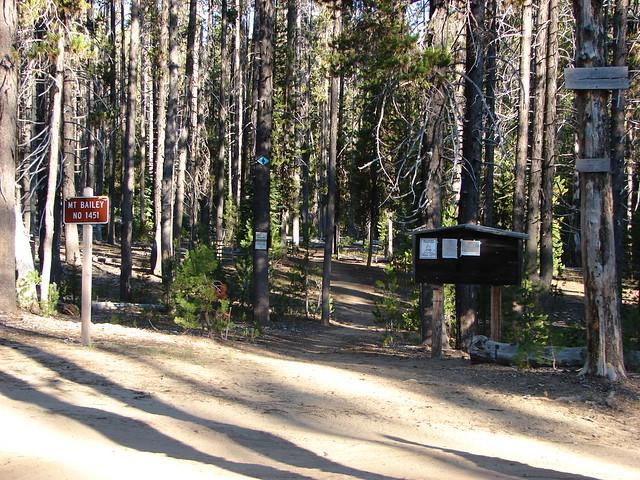 Mt. Bailey Trailhead