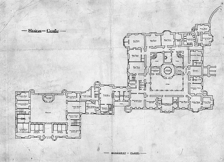 Slains Castle Ground Floor Plan Slains Castle Also