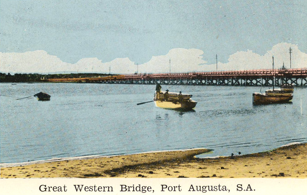 The wild and checkered history of Port Augusta's Great Western Bridge
