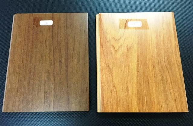 義達創新的仿木地板。圖片來源:余金龍提供。