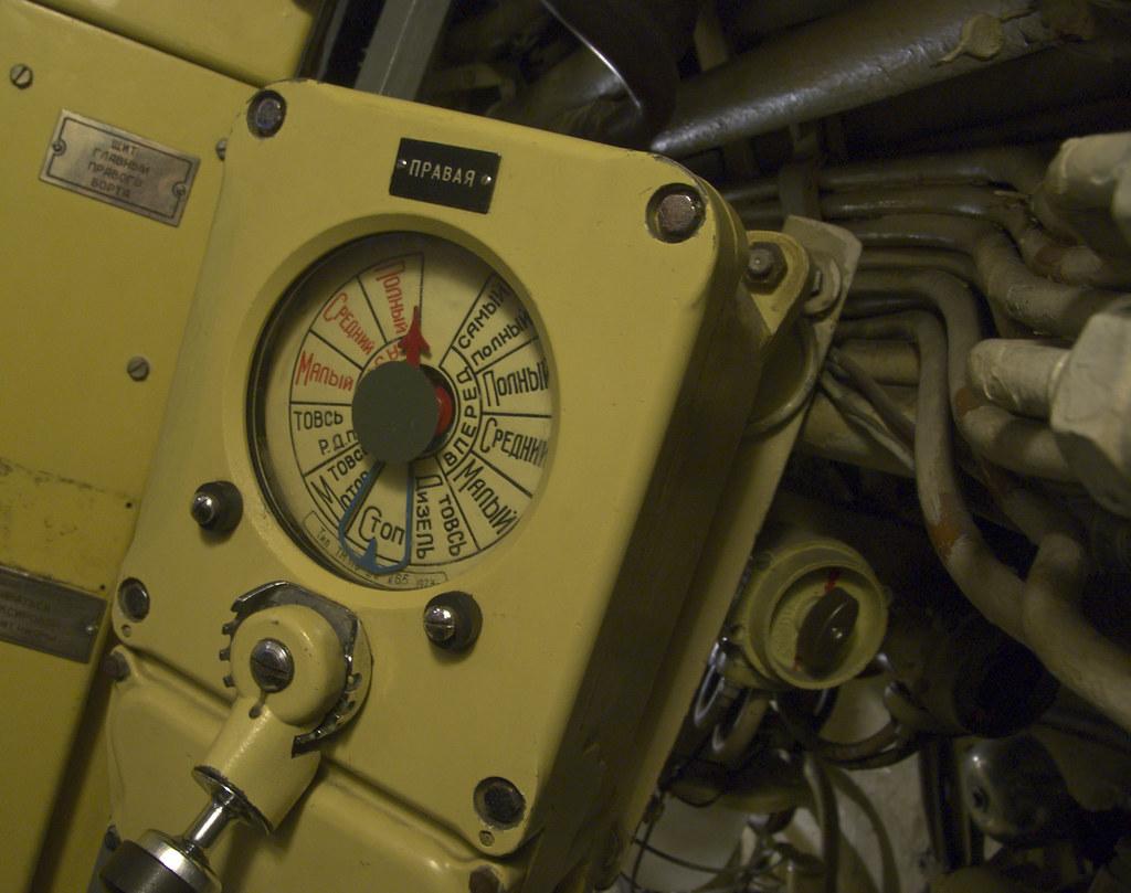 soviet u boat engine speed control inside the engine contr flickr. Black Bedroom Furniture Sets. Home Design Ideas
