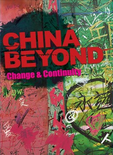 """China Beyond – Change & Continuity""  Book Cover 