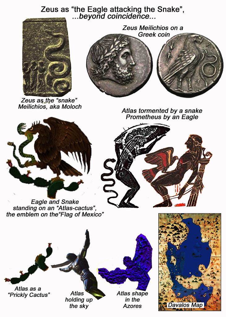 Beyond Coincidence The Eagle And Snake Of The Atlas Prome Flickr