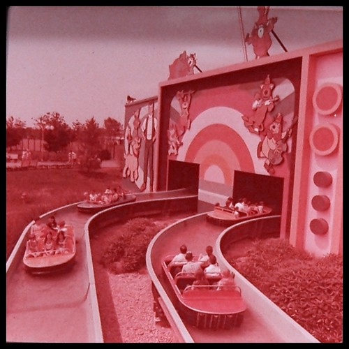hannabarbera land at kings island amusement park 1970s