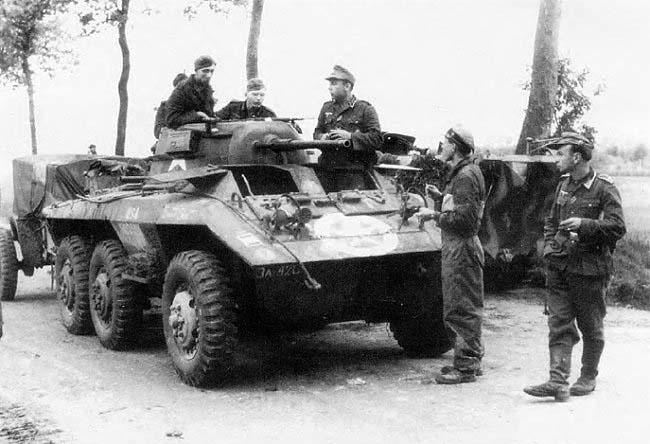 Panzersp 228 Hwagen M8 A M8 Light Armored Car 171 Greyhound