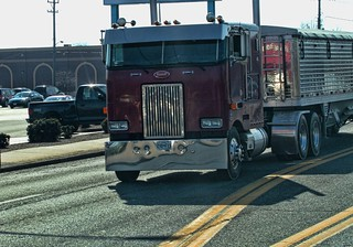 Peterbilt Cabover | by raymondclarkeimages