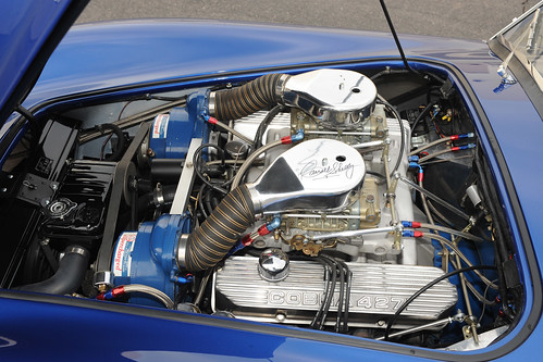 Shelby Cobra Super Snake Twin Supercharged Engine Flickr