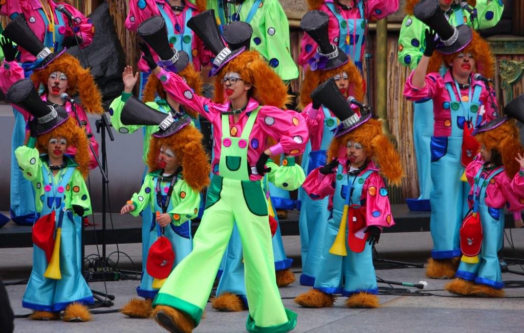 Festival disfraces infantiles y murgas carnaval 2013 las p - Disfrazes para carnavales ...