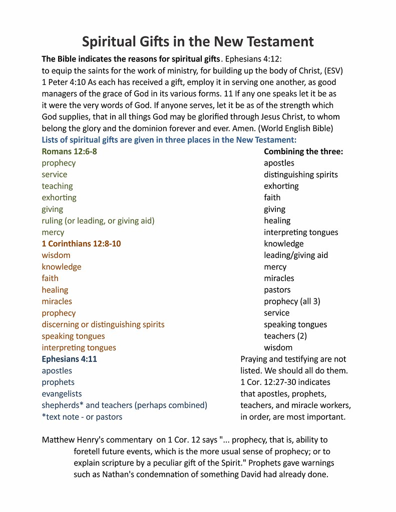 spiritual gift lists | i uploaded this so i can use it on my… | flickr