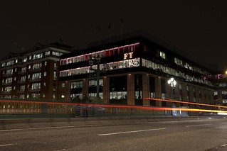 One Southwark Bridge... Pink! | by Financial Times photos