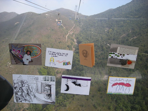 my REAL wall on the cable car in Hong Kong | by andytgeezer
