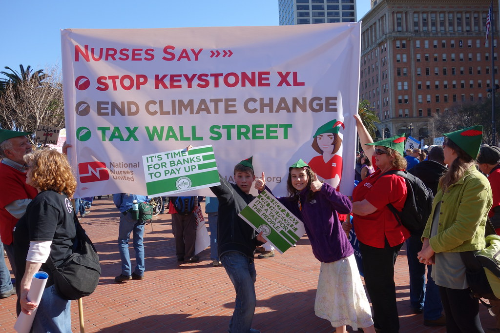 Forward on Climate protest against Keystone XL Pipeline in ...