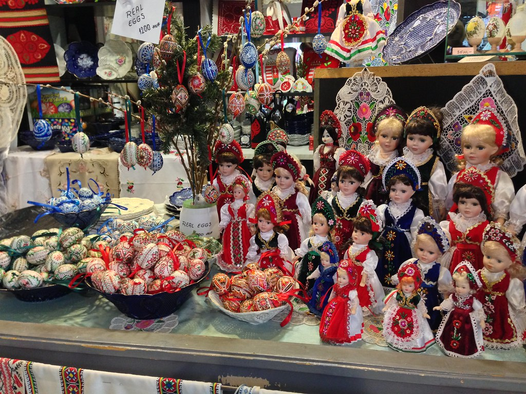 Credit Report Com >> Souvenirs at the Central Market, Budapest | Photos from my ...
