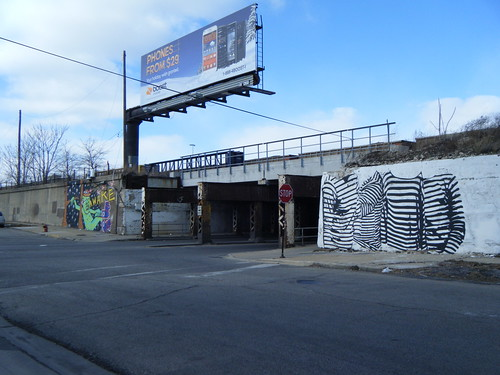 Murals on both sides of Ashland Ave | by Preetha & James