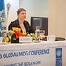 UNDP Administrator Helen Clark at the 2013 Global Millennium Development Goals (MDGs) Conference (GMC) in Bogotá, Colombia