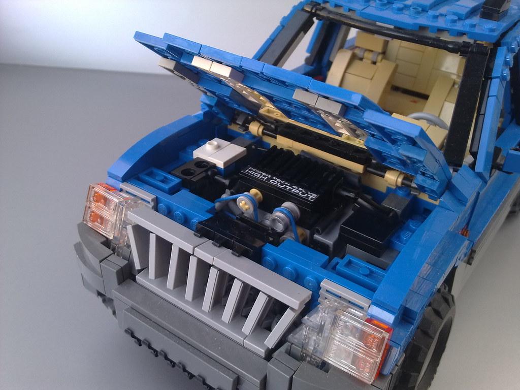 White Jeep Grand Cherokee >> Jeep Grand Cherokee - PowerTech 4.7 L V8 engine detail | Flickr