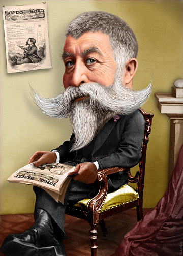 thomas nast caricature thomas nast is the father of