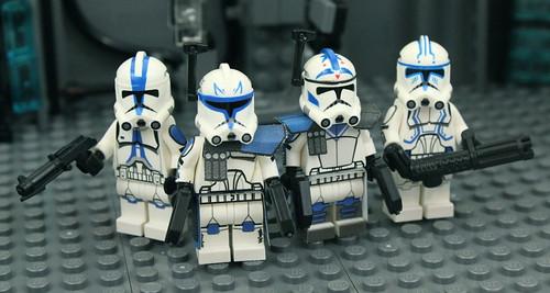 lego 501st umbara clones series david hall flickr
